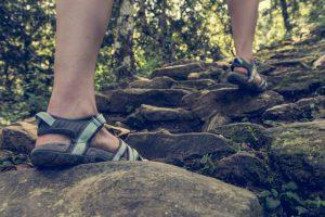 Wandern Sandalen