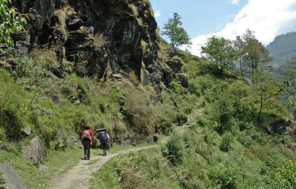 Der Dodi Tal Trek - Schöne Landschaften soweit das Auge reicht