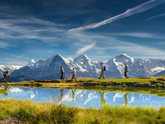 Trekking durch das Berner Oberland