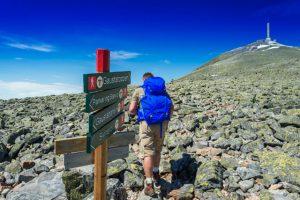 Norwegen Trek - Auf zum Gaustatoppen