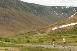 Beim Trek im Gros Morne National Park warten viele Herausforderungen auf Sie