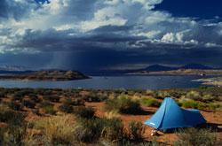Zelte können in Norwegen überall aufgeschlagen werden