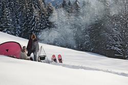 Zelten im Winter - die besten Tipps zur Ausrüstung